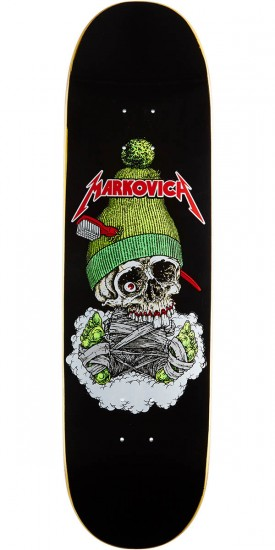 Cliche 101 Skull Silk Screen Skateboard Deck - Kris Markovich - 8.25