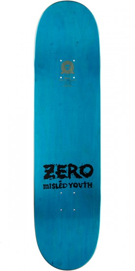 Zero Misled Youth R7 Skateboard Deck - Black/White - 8.375