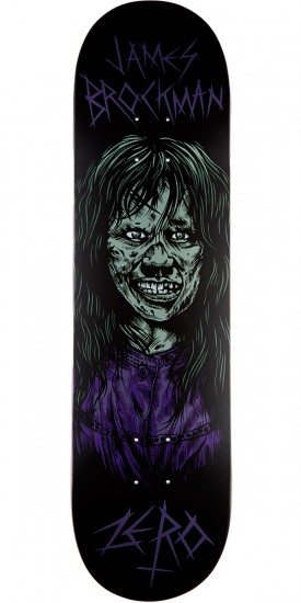 Zero Brockman Possessed R7 Skateboard Deck - James Brockman - 8.25