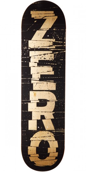 Zero Cutler Hybrid Skateboard Deck - Black/Natural - 8.0