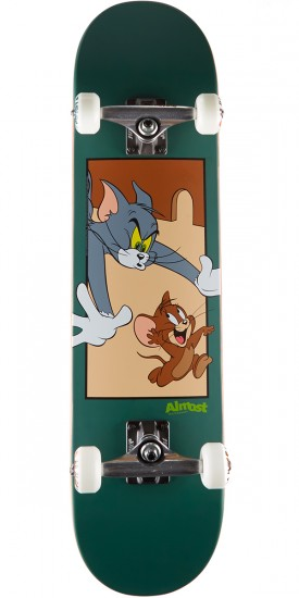 Almost Tom and Jerry Skateboard Prebuilt Complete - Pine Green - 7.75