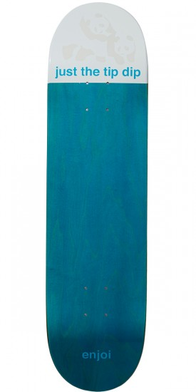 Enjoi Just The Tip R7 Skateboard Deck - Blue - 8.125