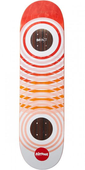 Almost OG Trans Rings Ghost Impact Skateboard Deck - Cooper Wilt - 8.25