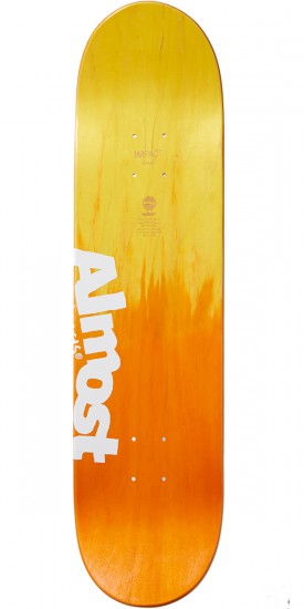 Almost OG Trans Rings Ghost Impact Skateboard Deck - Youness Amrani - 8.0
