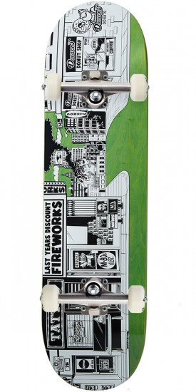 Almost Stick-O-Rama R7 Skateboard Complete - Daewon Song - 8.375