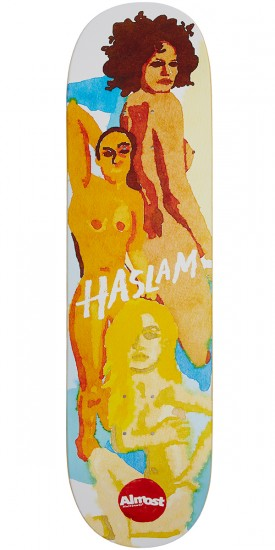 Almost Lady Pablo Impact Light Skateboard Deck - Chris Haslam - 8.5
