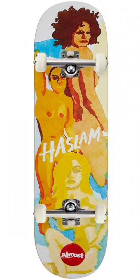 Almost Lady Pablo Impact Light Skateboard Complete - Chris Haslam - 8.5