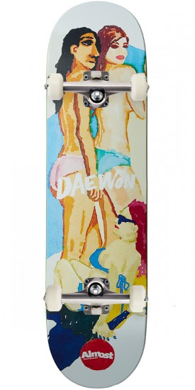 Almost Lady Pablo Impact Light Skateboard Complete - Daewon Song - 8.25