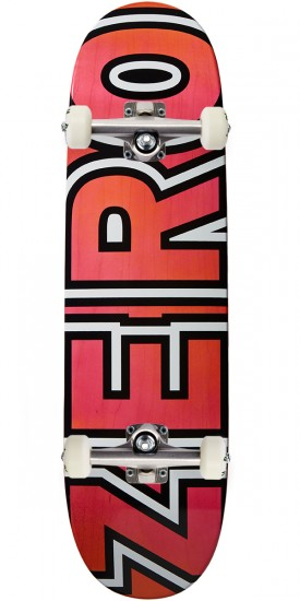 Zero New Team Bold R7 Skateboard Complete - Pink/Yellow - 8.625