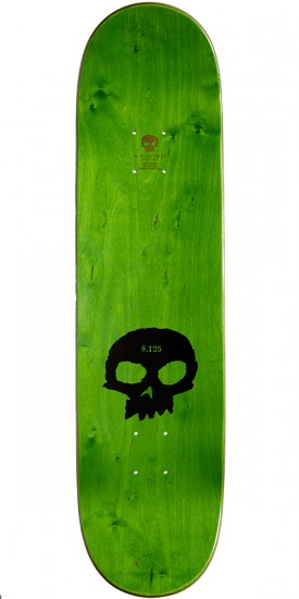 Zero Multi Skull Hybrid Skateboard Complete - Black/Orange - 8.125
