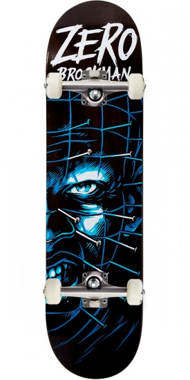 Zero Friday Night Impact Light Skateboard Complete - James Brockman - 8.0