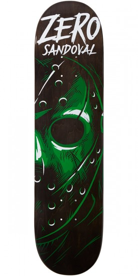 Zero Friday Night Impact Light Skateboard Deck - Tommy Sandoval - 7.75