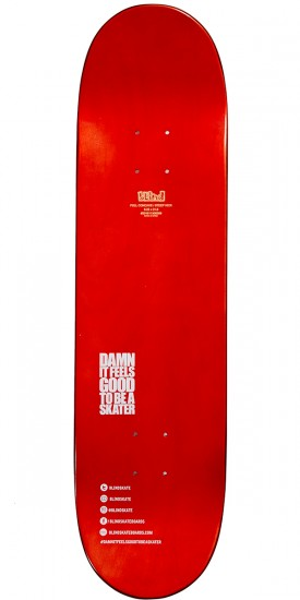 Blind Jumble Split Hybrid Skateboard Deck - Red/Black - 8.25