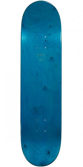 Enjoi No Brainer Hybrid Skateboard Deck - Light Blue - 8.0
