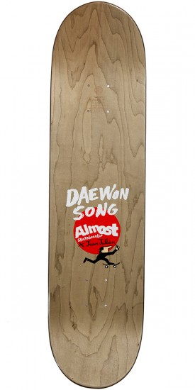 Almost Jean Julien Stairs R7 Skateboard Deck - Daewon Song - 8.0
