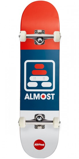 Almost ALIF R7 Skateboard Complete - Red/White/Blue - 7.75