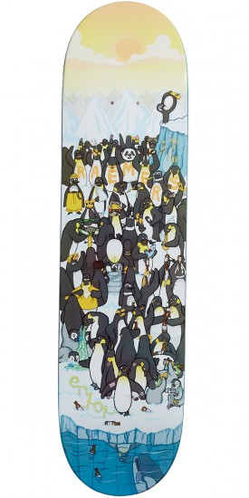 Enjoi Penguin Party R7 Skateboard Deck - Ben Raemers - 8.0