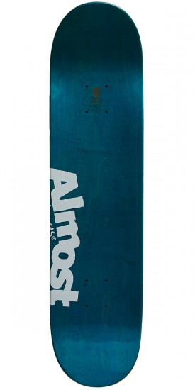 Almost Neon Sign R7 Skateboard Deck - Red - 7.75
