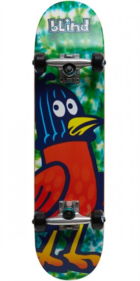 Blind Pigeon Tag Youth Skateboard Complete - Tie Dye - 7.25