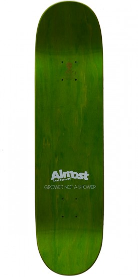 Almost Grower Not Shower R7 Skateboard Deck - Yuri Facchini - 8.25
