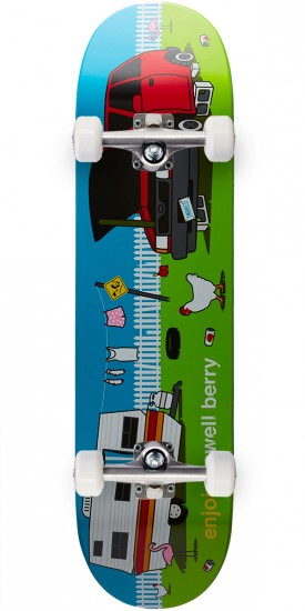 Enjoi Home Sweet Home Pro R7 Skateboard Complete - Caswell Berry - 8.25