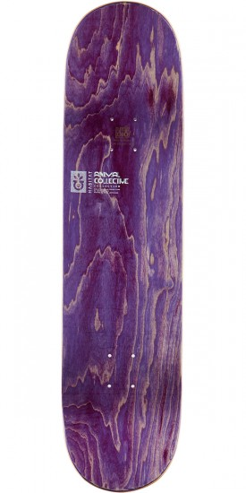 Habitat Animal Collective Large Skateboard Deck - 8.375""