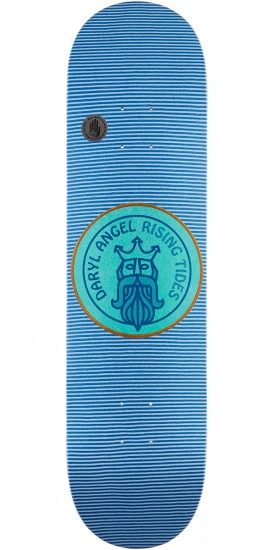 Habitat Classic Stripes Darly Angel Skateboard Deck - 8.00""