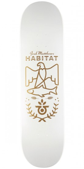 Habitat Matthews Wood Grain Skateboard Deck - 8.25""