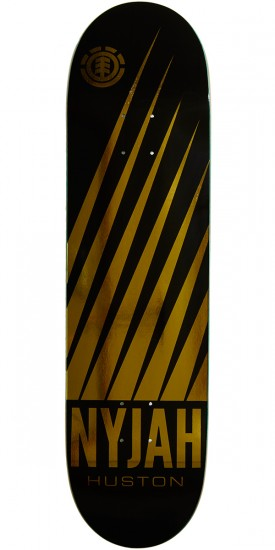Element Nyjah Gold Skateboard Deck - 8.25""