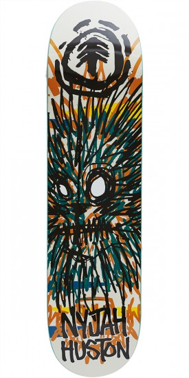 Element Fos Nyjah Lion Skateboard Deck - 7.75""