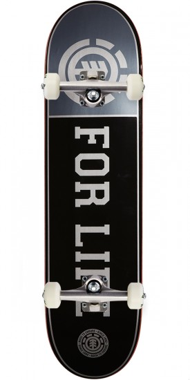 Element 25yr Silver Life Skateboard Complete - 8.125""