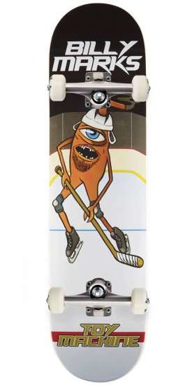 Toy Machine Marks Hockey Skateboard Complete - 8.00""
