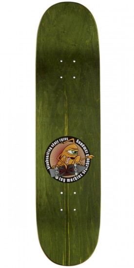 Toy Machine Lutheran Hand Gun Skateboard Deck - 8.25""