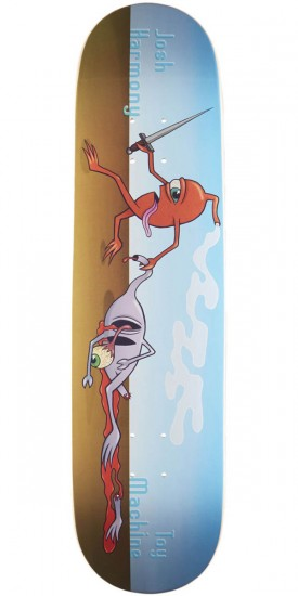 Toy Machine Harmony Sect Death Skateboard Deck - 8.125""
