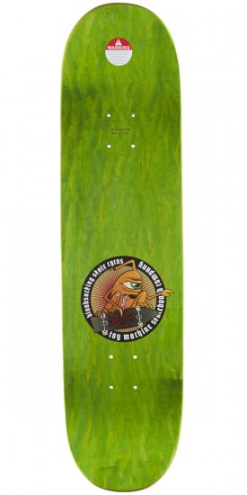 Toy Machine Bennett Sect Bat Skateboard Complete - 8.25""