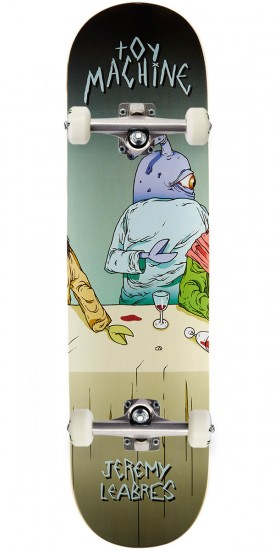 """Toy Machine Leabres Last Supper Skateboard Complete - 8.125"""""""