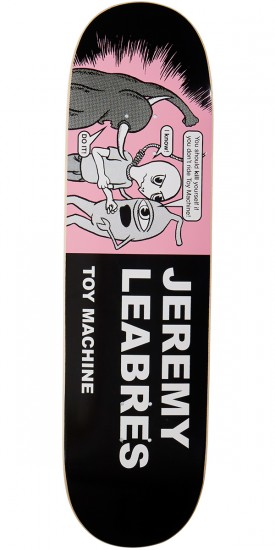 """Toy Machine Leabres Tracts Skateboard Deck - 8.50"""""""