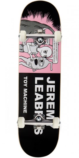 """Toy Machine Leabres Tracts Skateboard Complete - 8.50"""""""