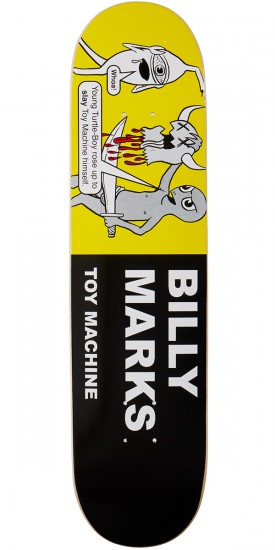 """Toy Machine Marks Tracts Skateboard Deck - 7.75"""""""