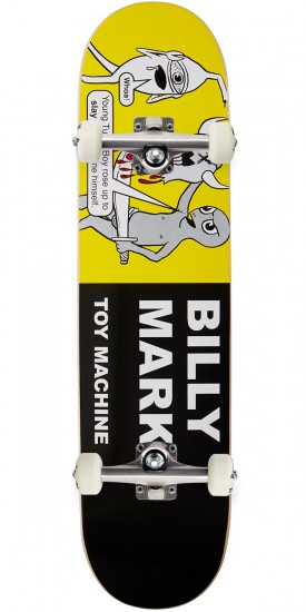"Toy Machine Marks Tracts Skateboard Complete - 7.75"" - Blem"