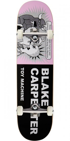 """Toy Machine Carpenter Tracts Skateboard Complete - 8.25"""""""
