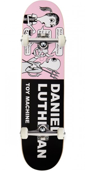 """Toy Machine Lutheran Tracts Skateboard Complete - 8.00"""""""