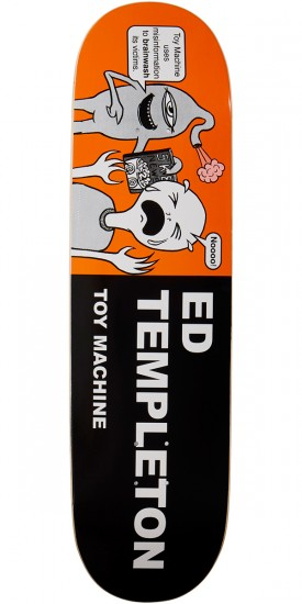Toy Machine Templeton Tracts Skateboard Deck - 8.50""