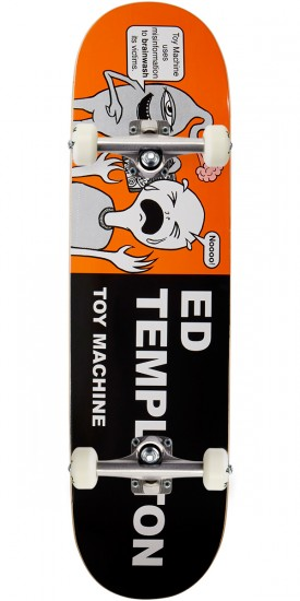 Toy Machine Templeton Tracts Skateboard Complete - 8.50""
