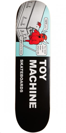 Toy Machine Tracts Skateboard Deck - 8.375""
