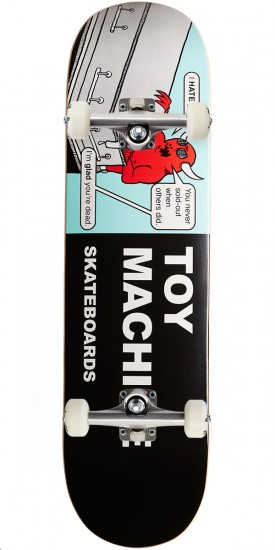 Toy Machine Tracts Skateboard Complete - 8.375""
