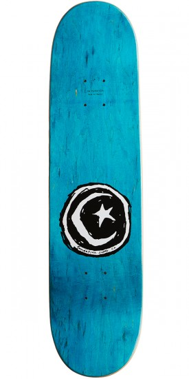 """Foundation Star and Moon Blue Skateboard Complete - 8.00"""""""