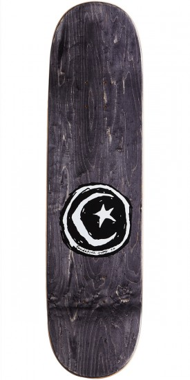 Foundation Star and Moon Waves Skateboard Deck - 8.25""