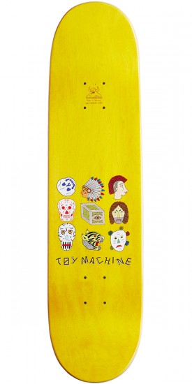 Toy Machine Romero Spirits Skateboard Deck - 8.00""