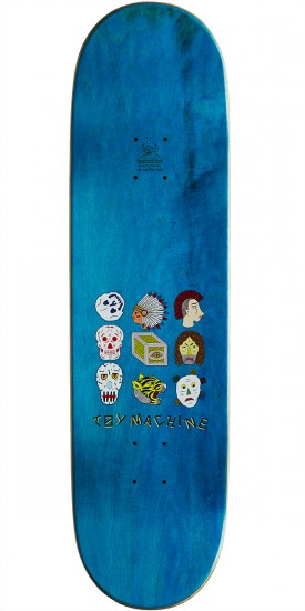 Toy Machine Templeton Spirits Skateboard Complete - 8.75""